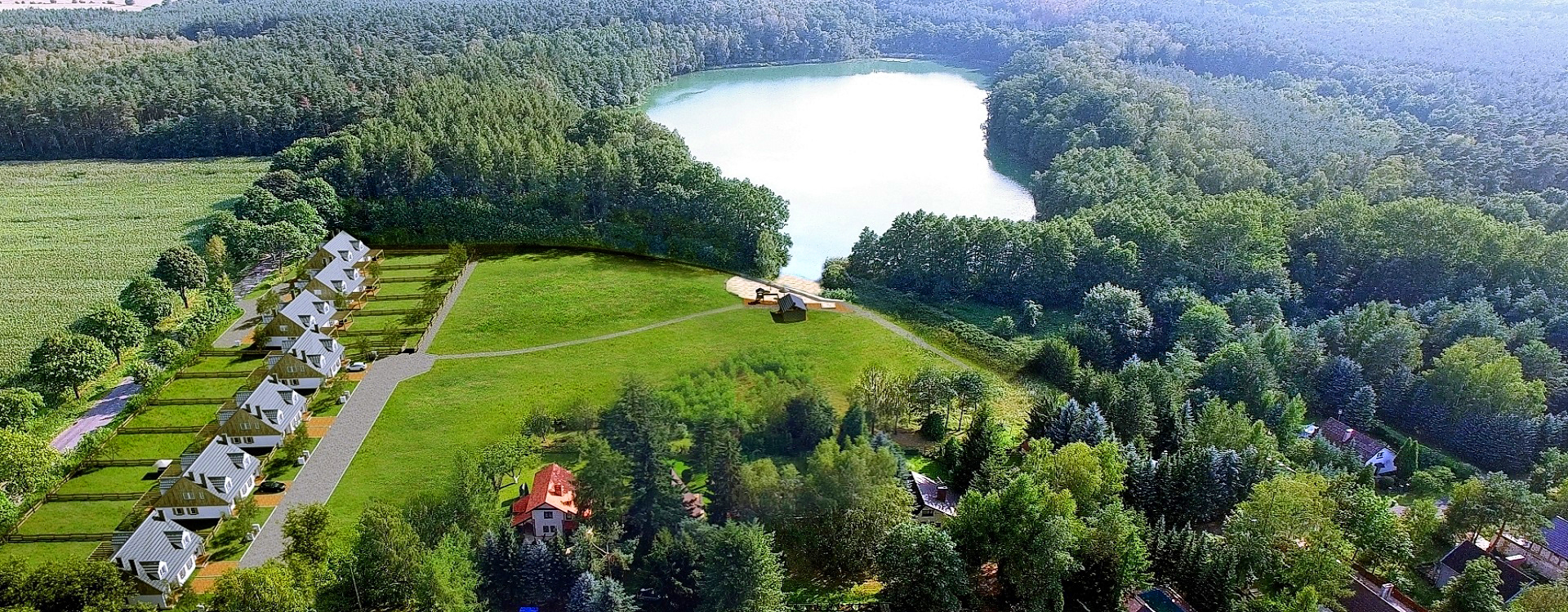 Domy marzeń nad jeziorem | Tylko w ofercie EASY-HOME!